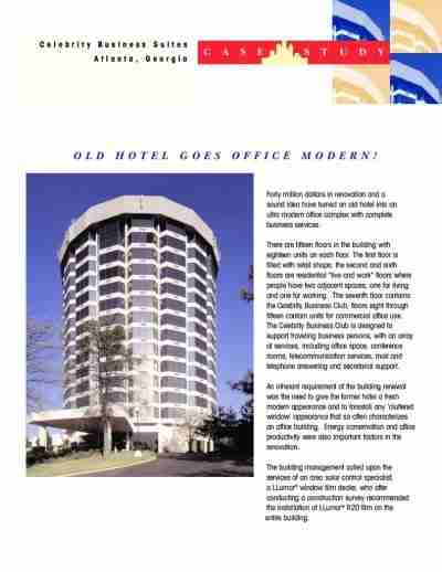 thumbnail of Celebrity Business Suites – Case Study Renovation